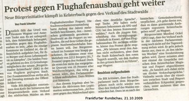Frankfurter Rundschau (anclicken zum Vergrößern)